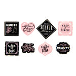Prima - My Prima Planner Collection - Travelers Journal - Decorative Tape Stickers - Quote
