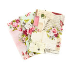 Prima - My Prima Planner Collection - Travelers Journal - Passport - Insert - Misty Rose