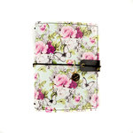 Prima - My Prima Planner Collection - Travelers Journal - Passport - Cover - Windy Gardens