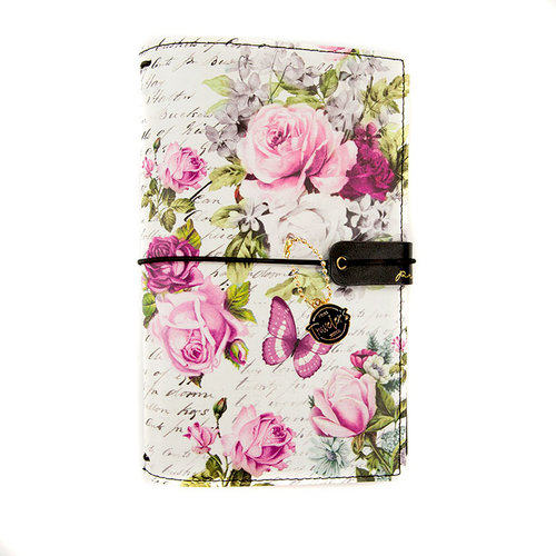 Prima - My Prima Planner Collection - Travelers Journal - Personal - Cover - Misty Rose