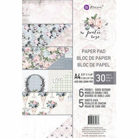 Prima - Poetic Rose Collection - A4 Paper Pad