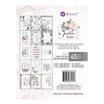 Prima - Poetic Rose Collection - 3 x 4 Journaling Cards