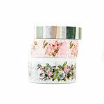 Prima - Poetic Rose Collection - Decorative Tape with Foil Accents