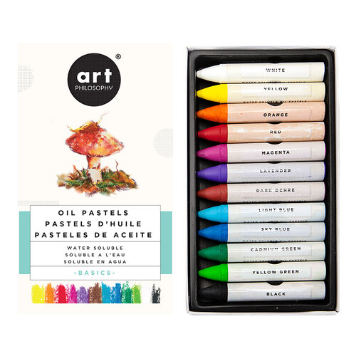 Prima - Water Soluble Oil Pastels - Basics