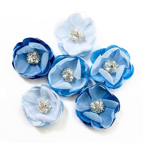 Prima - Santorini Collection - Flower Embellishments - Messaria