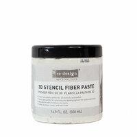 Re-Design - 3D Stencil Fiber Paste
