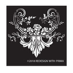 Prima - Re-Design Collection - Silk Screen Stencil - Provence Rose