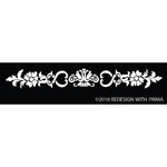 Prima - Re-Design Collection - Silk Screen Stencil - Olivia Border