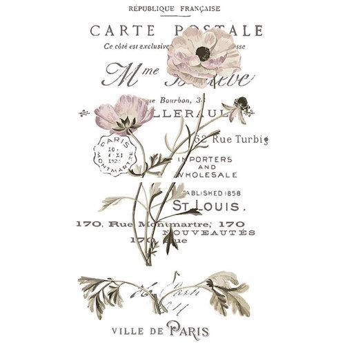 Decoration Carte Postale.Re Design Transfer Carte Postale