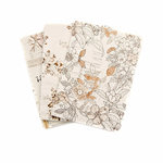 Prima - My Prima Planner Collection - Travelers Journal - Passport - Insert - Pretty Pale