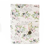 Prima - My Prima Planner Collection - Travelers Journal - B6 - Cover - Poetic Rose