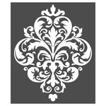 Prima - Re-Design Collection - Stencils - Large Damask