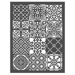 Prima - Re-Design Collection - Stencils - Patchwork
