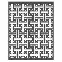 Re-Design - Stencils - Basket Weave