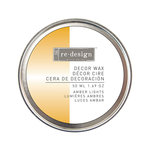 Prima - Re-Design Collection - Wax Paste - Amber Lights