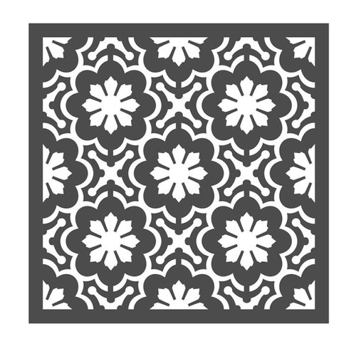 Prima - Re-Design Collection - Stencils - Dainty Fleur