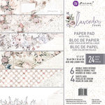 Prima - Lavender Frost Collection - 12 x 12 Paper Pad