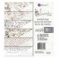 Prima - Lavender Frost Collection - 6 x 6 Paper Pad
