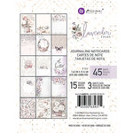 Prima - Lavender Frost Collection - 3 x 4 Journaling Cards