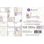 Prima - Lavender Frost Collection - 4 x 6 Journaling Cards