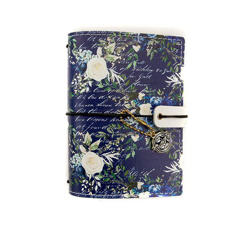 Prima - My Prima Planner Collection - Travelers Journal - Passport - Cover - Georgia Blues