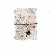 Prima - My Prima Planner Collection - Travelers Journal - Passport - Cover - Lavender Frost