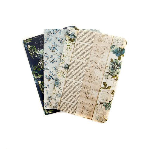 Prima - My Prima Planner Collection - Travelers Journal - Passport - Insert - Georgia Blues