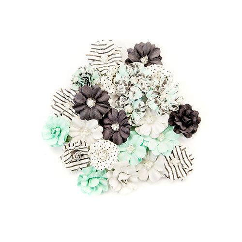 Prima - Flirty Fleur Collection - Flower Embellishments - Little Moments
