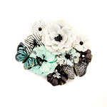 Prima - Flirty Fleur Collection - Flower Embellishments - Take Flight