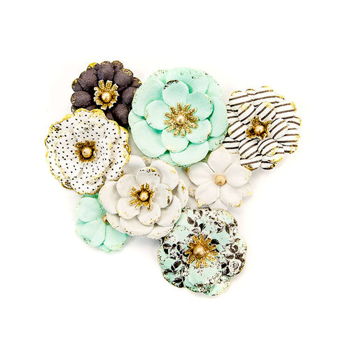 Prima - Flirty Fleur Collection - Flower Embellishments - Goldkiss