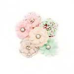 Prima - Misty Rose Collection - Flower Embellishments - Addison