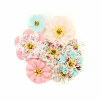 Prima - Misty Rose Collection - Flower Embellishments - Earleen