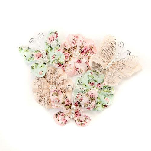 Prima - Misty Rose Collection - Flower Embellishments - Mabel