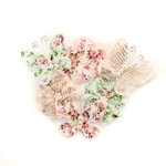 Prima - Misty Rose Collection - Flower Embellishments - Mabel