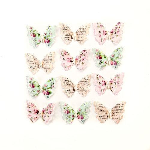 Prima - Misty Rose Collection - Flower Embellishments - Taylor