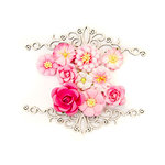 Prima - Misty Rose Collection - Flower Embellishments - Maggie