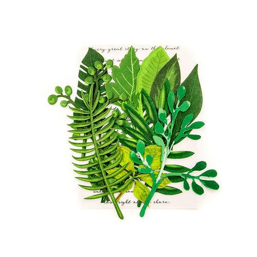 Prima - Leaf Embellishments - Evergreen