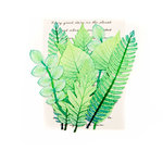 Prima - Leaf Embellishments - Mountain Pine