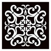 Re-Design - Paver Stencil - Valentina