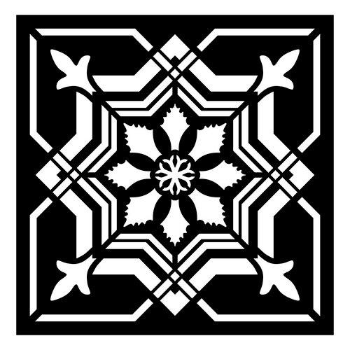 Re-Design - Paver Stencil - Isabella