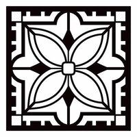 Re-Design - Paver Stencil - Aria