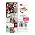 Prima - Midnight Garden Collection - 3 x 4 Journaling Cards