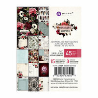Prima - Midnight Garden Collection - 3 x 4 Journaling Cards