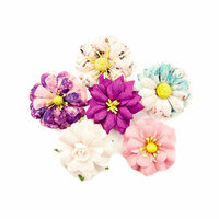Prima - Moon Child Collection - Flower Embellishments - Galactic Energy
