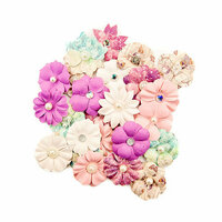 Prima - Moon Child Collection - Flower Embellishments - Absolute Aurora
