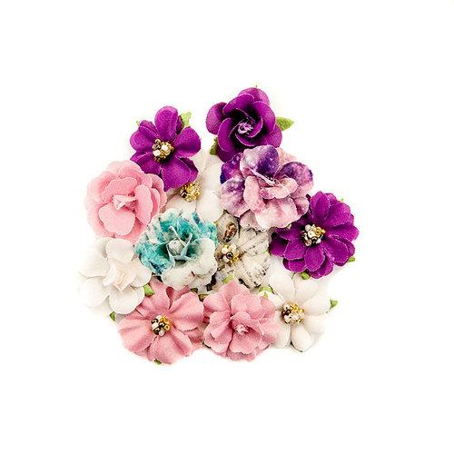 Prima - Moon Child Collection - Flower Embellishments - Love Comet