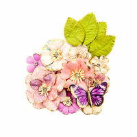 Prima - Moon Child Collection - Flower Embellishments - Light Years
