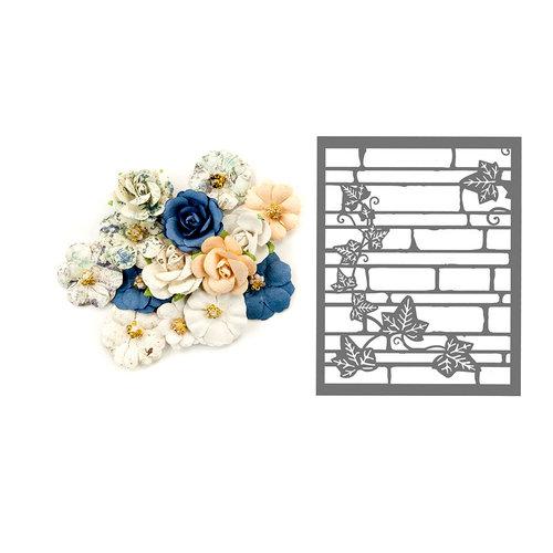 Prima - Georgia Blues Collection - Flower Embellishments - Wilcox