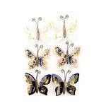 Prima - Georgia Blues Collection - Flower Embellishments - Warren