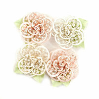 Prima - Poetic Rose Collection - Flower Embellishments - Beautiful Melody